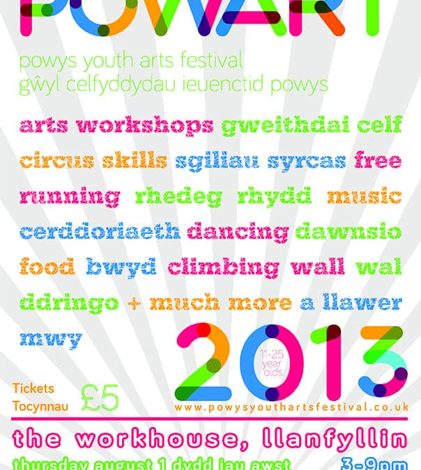 Come get creative at POWART 2013!