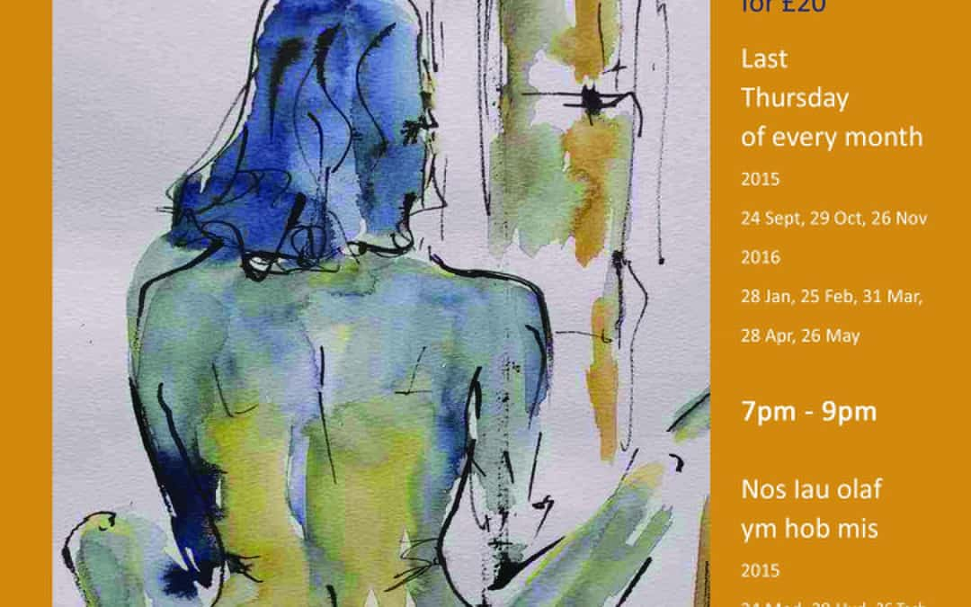Life Drawing Classes 2015