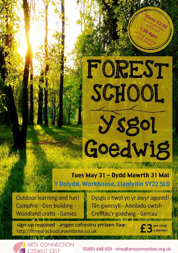 Forest School Poster small
