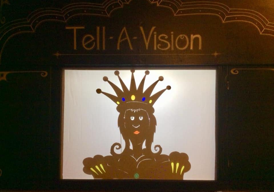 Tell-a-Vision Shadow Puppet Performance