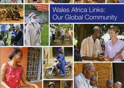 4 Wales Africa Community Links Bookcover