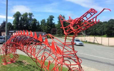 Active Travel Sculpture 2017