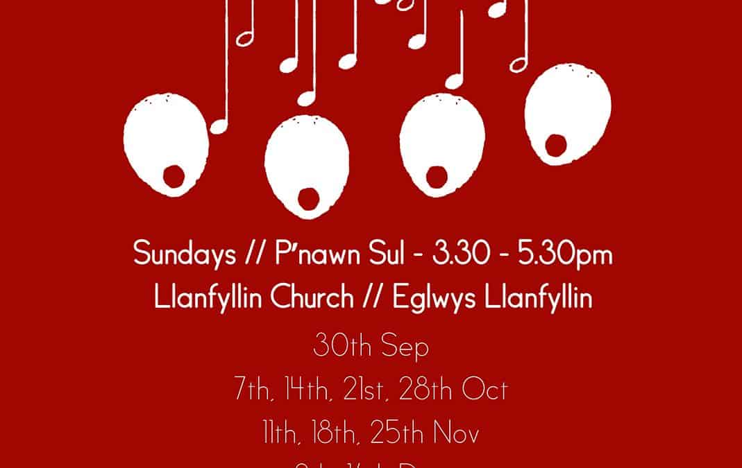 Llanfyllin Sings Community Choir 2018