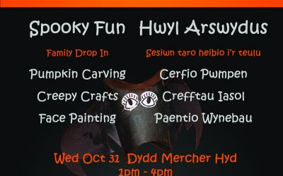 Spooky Fun Family Arts 2018