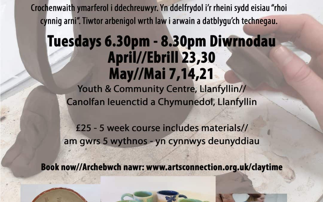 Clay Time 5 Week Course