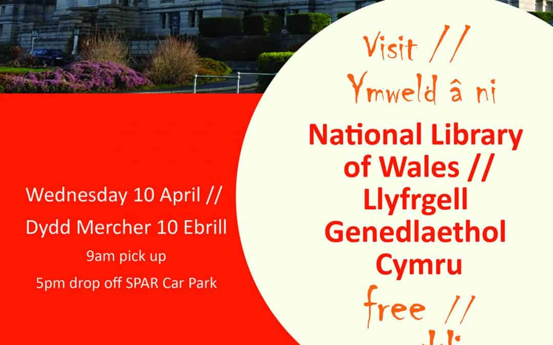 Visit to National Library of Wales